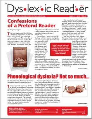 Dyslexic Reader