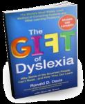 Book Cover, Gift of Dyslexia